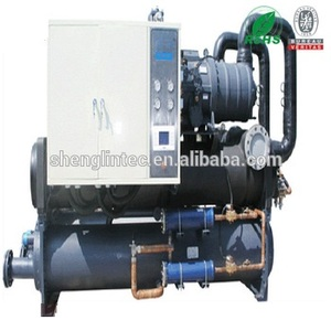 Brine centrifugal water cooled chiller