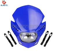 Universal Dirt bike Motorcycle Streetfighter Enduro LED Vision H4 Headlight YZF XR KLX DR