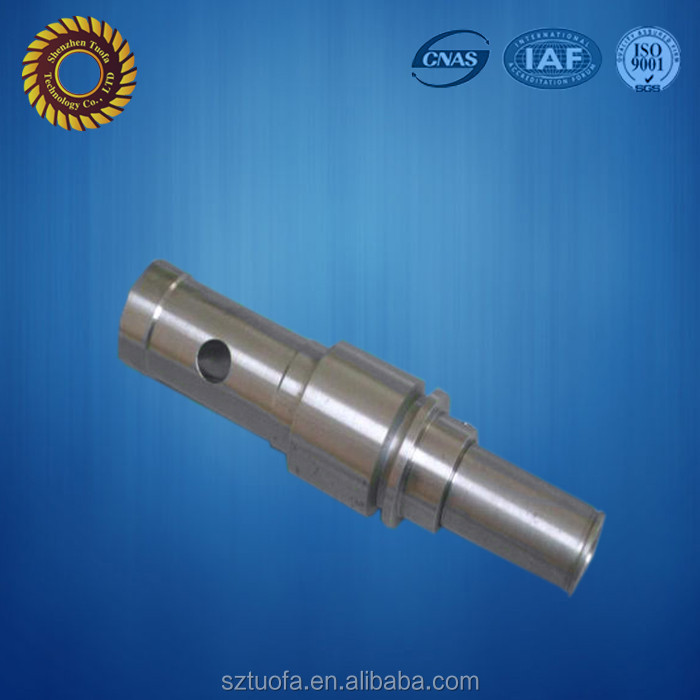 Stainless steel cnc customized drive shaft cnc turning lathe parts