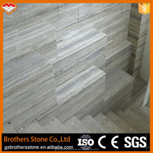 Light Silver Travertine Slabs Tiles Stairs Persian Silver Travertine Slabs