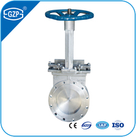 Top Selling Stainless Steel 316 Materials RF Flanged End Knife Gate Valve