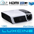 15% off Promotion!!! C5 Full HD !!!1080p home theater projectors mini size ,1kg