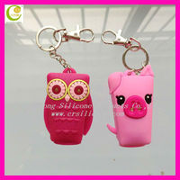 2013 Wholesale customized silicone hand sanitizer gel holder for best promotional gifts