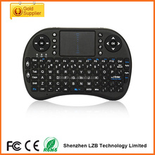 Innovative Hot selling Mini wireless rii i8 air mouse 2.4G Wireless mini Keyboard i8 air fly mouse keyboard mouse with Touchpad