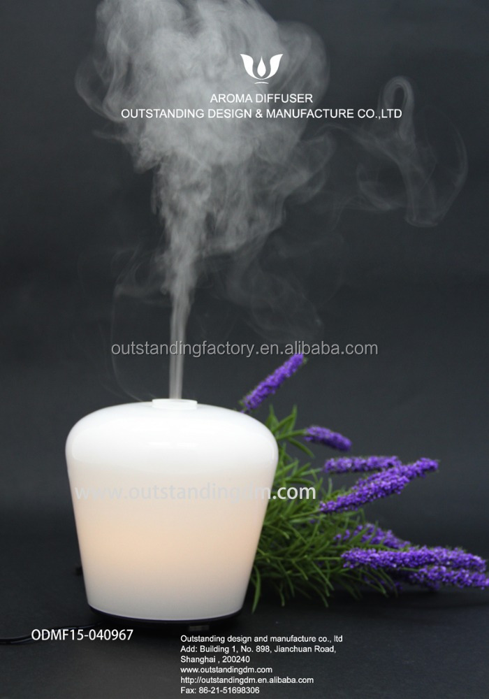 Home decoration glass Healthy Essential Oil Blends Ultrasonic Aroma Diffuser