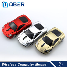 Car Shape USB 2.0 Wireless Optical Mouse USB Receiver 2.4GHZ Stylish Wireless Car Mice For Laptop PC Computer