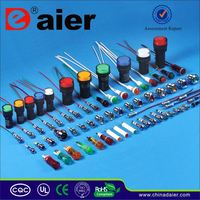 led indicator 8mm pilot light with wire