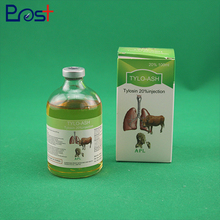 Low Price Pet Medicine Tylosin Tartrate Injection