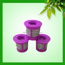 Biodegradable reusable coffee filter for Keurig with pernament solo k cup