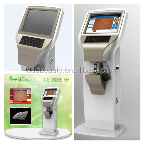 Best selling products facial skin analyzer/oil and dry analysis machine