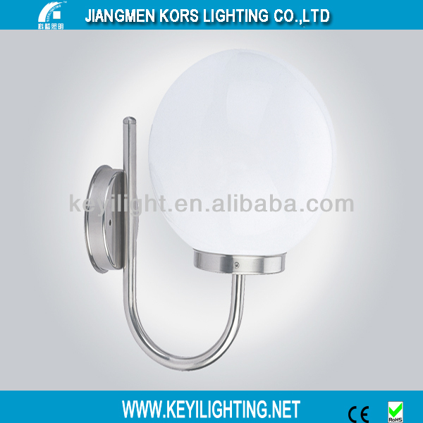 IP54 hot sale modern stainless steel round wall lamp outdoor(ST027)