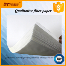 Square lab - supply 60cm*60cm large cotton pulp qualitative filter paper