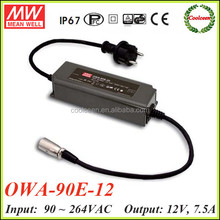 Meanwell dimmable led driver 12V OWA-90E-12
