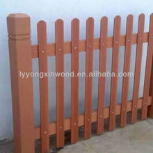 wood plastic composite wpc picket fence|garden fence