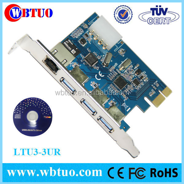 pci-e usb3.0 network rj45 ethernet adapter card