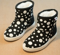 Best 1163 The new style single shoe leather toddler young children lovely bowknot baby shoes