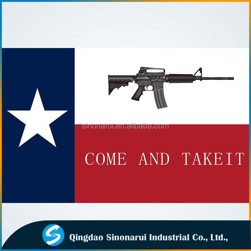 Special banners Come and taker it gun flag American Texas flags