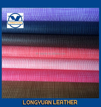china pu leather Stretch and printed fabric, high quality for shoes