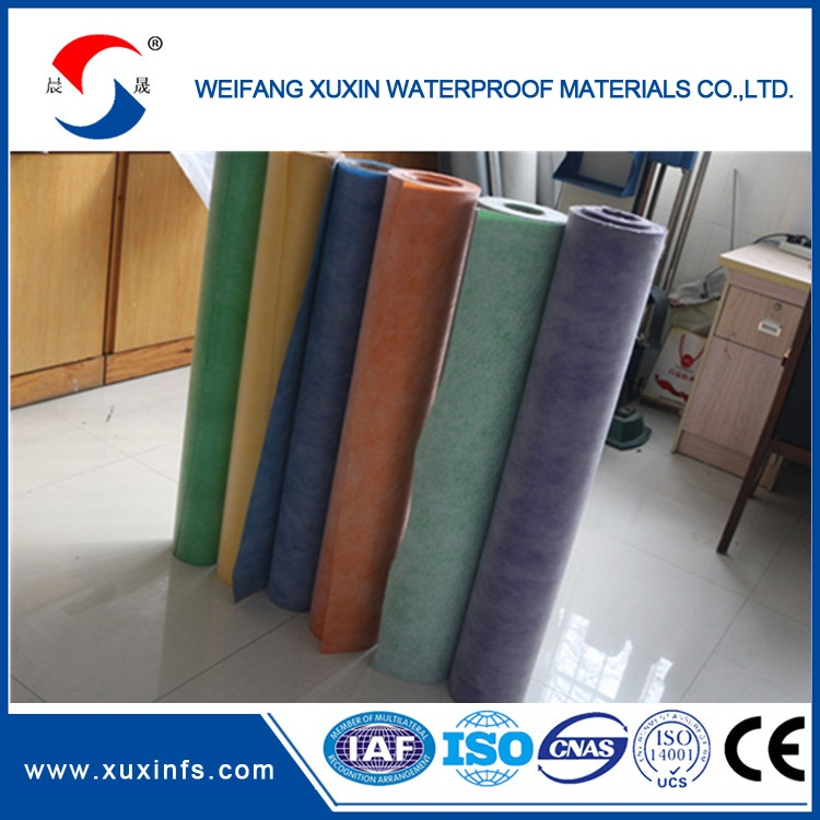 Factory price PP PE PP extruded synthetic waterproof membrane blend SHEETwaterproof membrane