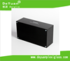 Rectangle Black Or White Acrylic Facial Tissue Box Design With Rubble Mat