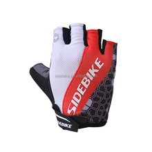 Factory Direct Cheap Short Finger Racing Bike Gel Bicycle Gloves