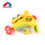 Wholesale best kids gifts novel styling safety EVA soft color ball gun with 4 colors balls