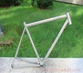 titanium 54cm road bike frame with 142*12 dropouts Di2 ti road bike customized titanium road bike frame with flat mount