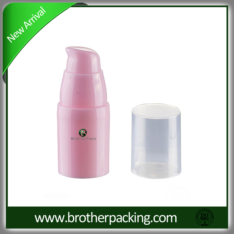 High Quality China Factory plastic airless bottle with good prices