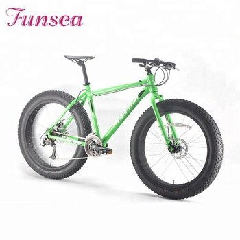 New alloy disc brake complete fatbike adult men outdoor sport cycling snow beach cruiser big wheel bicycle 26'' fat tire bike