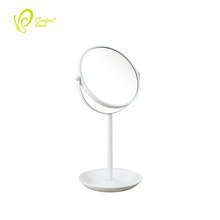 Vanity Mirror Makeup Mirror with Cosmetic Organizer Base