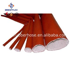 Custom light high temp protect hoses silicone fire resistant sleeve suppliers