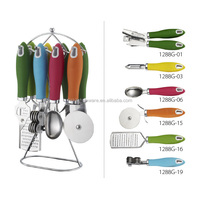 New design kitchen tool sets HS1288G kitchen gadgets as seen tv/kitchen accessory
