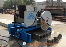 Portable concrete floor saw /road cutting saw machine