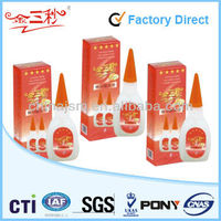 All purpose contact adhesive super glue cyanoacrylate adhesive