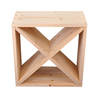 Buy freestanding solid wood wine and liquor storage cube from Minghou