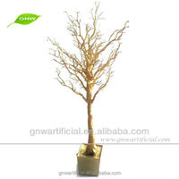 GNW 5ft gold artificial dry tree branch coral decoration Wedding Centerpiece for party wedding decoration
