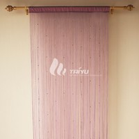 luxury home textile decorative spaghetti string curtain