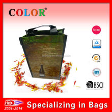 Eco friendly - two bottles Wine bag, PP non woven Wine bag