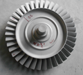 Turbine Wheel Casting Parts 180mm High Temperature Alloy Material