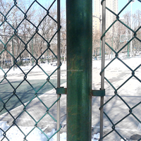 hot selling galvanized and PVC coated chain link fence for sale
