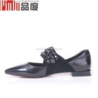 PDD002 lady dress Shoes Women Closed Toe High Heel Platform Pumps Girls brand name shoes flat heel shoes