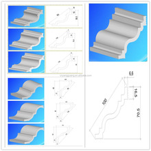 HOT Sell Polystyrene cornice crown moulding