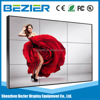 46 Inch Ultra Narrow Bezel LCD Video Wall hdmi video wall controller