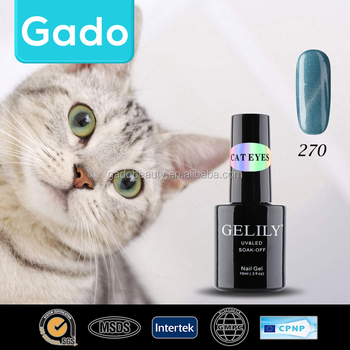 Gado 10ml soak off cat eyes uv gel