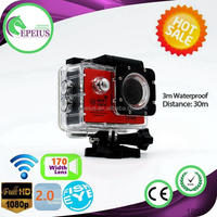 TOP SALES SJ7000 WIFI new products 2016 innovative product 1080P 170 WIDE ANGLE FISH EYE LENS SPORT VIDRO CAMERA