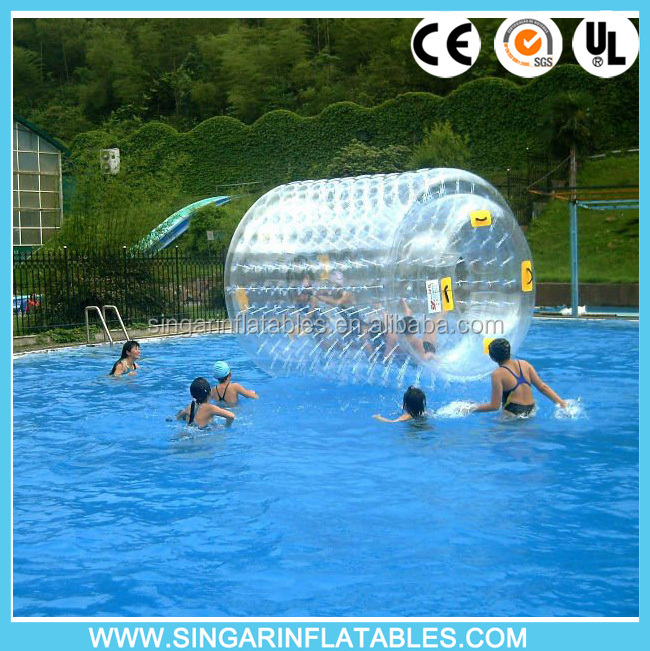 Gold supplier CE certification water roller water walking balloon 1.0mm 100% TPU PVC material