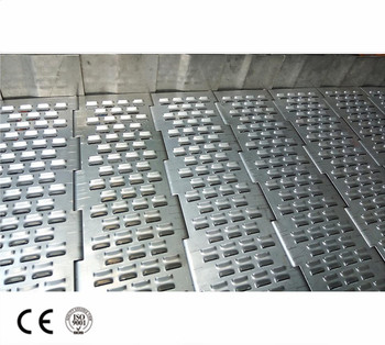 Custom metal conveyor chain plate Punching chain conveyor belt