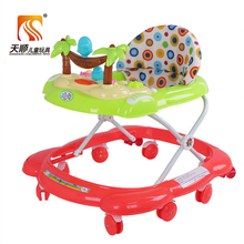 2017 New cheap safety plastic baby walkers folding frame kids walker for child