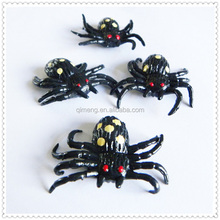 2014 Novelty TPR Sticky Animals Small Spiders halloween toys for sale,promotional gifts