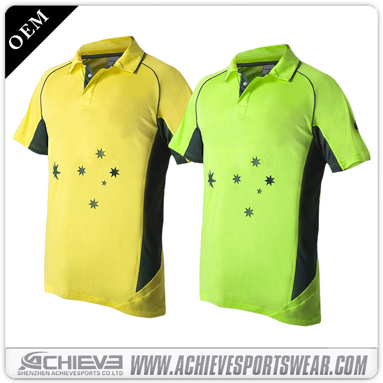 new design cricket jerseys pattern,cricket uniforms,sport t-shirts cricket wholesale